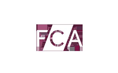 FCA logo white
